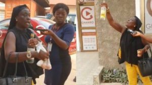 VIDEO: Ghanaian Musician storms GHAMRO Offices with eggs & alcohol to curse them