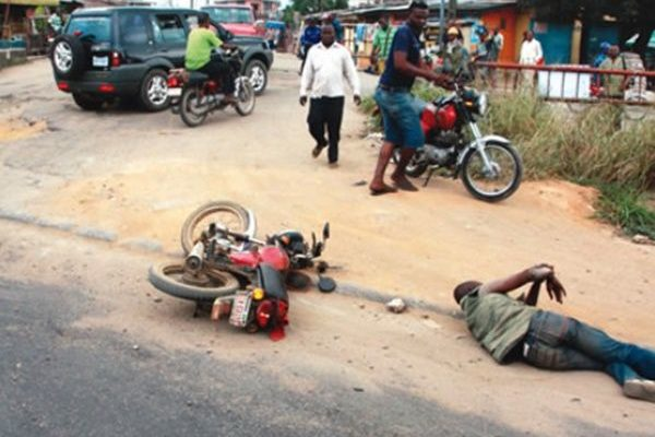 Okada Rider loses both arms after horrific accident