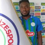 Just In: Attamah Larweh terminates his contract with Rizespor
