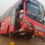 Dozens escape death in another Accra-Kumasi highway accident
