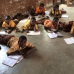 Nalerigu E/A basic school pupils forced to study on their bellies
