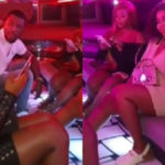 Afia Schwarzenegger drops video of NAM1's wife partying hard in a limousine