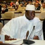 Yahya Jammeh warned not to return to Gambia