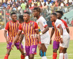 PHOTOS: Kotoko stun Hearts of Oak with late penalty in Accra