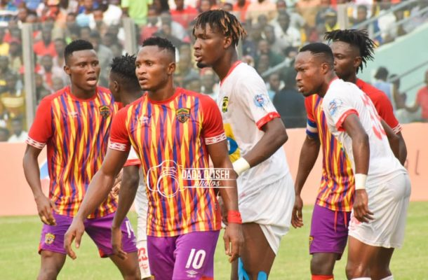 PHOTOS: Kotoko stun Hearts of Oak with late penalty in Accra