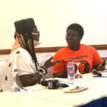 Amandzeba makes first public appearance after accident with his daughter