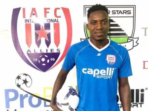 Dead Ball specialist Gockel Ahotor returns to Inter Allies