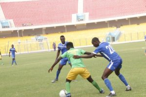 VIDEO: Watch highlights and goal of Olympics vs Aduana Stars
