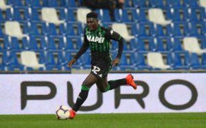 Injured Alfred Duncan a doubt for Sampdoria clash