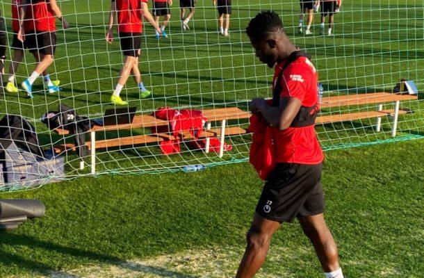 Ampomah starts training at Düsseldorf