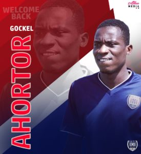 """I am really happy to be back to my team,"" Gockel Ahortor after rejoining Inter Allies"