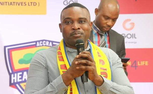 Just In: Hearts Supporters chief Elvis Herman Hesse Jr.resigns from the board