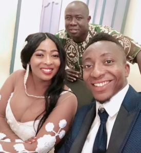 PHOTOS & VIDEO: Felix Annan weds girlfriend Francisca in Dormaa Ahenkro