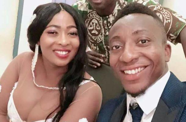 PHOTOS & VIDEO: Felix Annan weds girlfriend Francisca in Dormaa Ahenkro