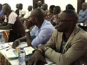 PHOTOS: GFA's Exco in a meeting with all newly appointed national team coaches