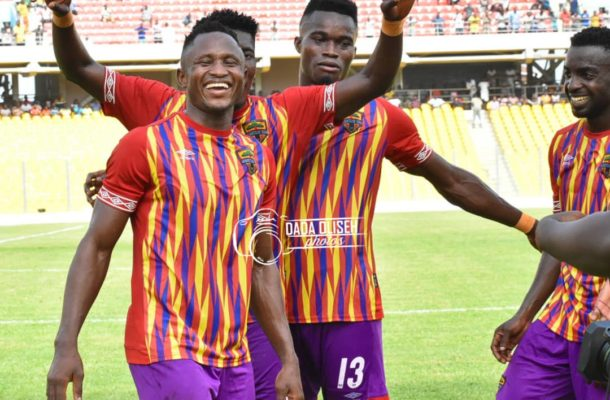 Just In: Hearts part ways with top striker Joseph Esso and four others