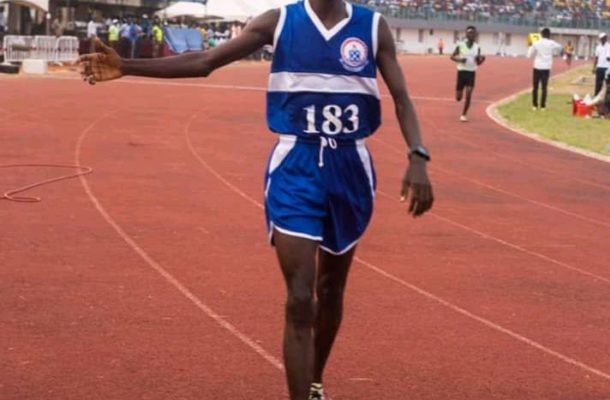GUSA Games 2020: William Amponsah sets new record in 10000 metres race