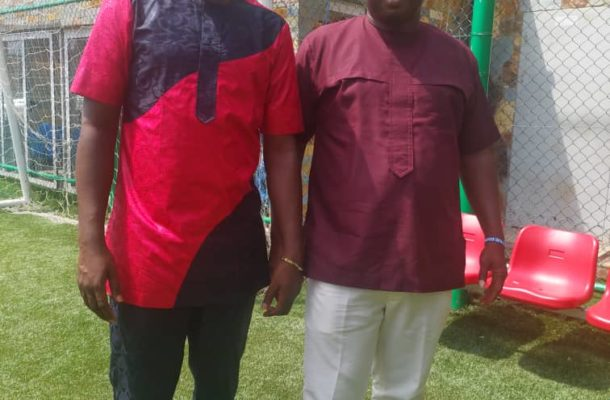 Greater Accra RFA oss pays courtesy call on Afro-Arab boss