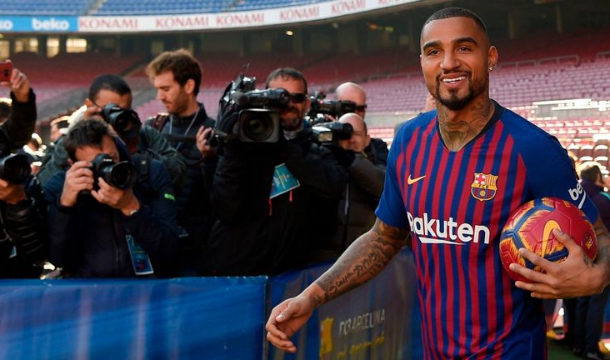Barcelona looking to re-sign K.P Boateng as replacement for crocked Suarez