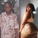 PHOTOS & VIDEO: Meet the newest transgender in Ghana causing a stir on the internet