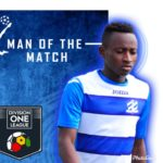 DOL Wise 1-2 Lions: Ibrahim Iddirisu named man of the match