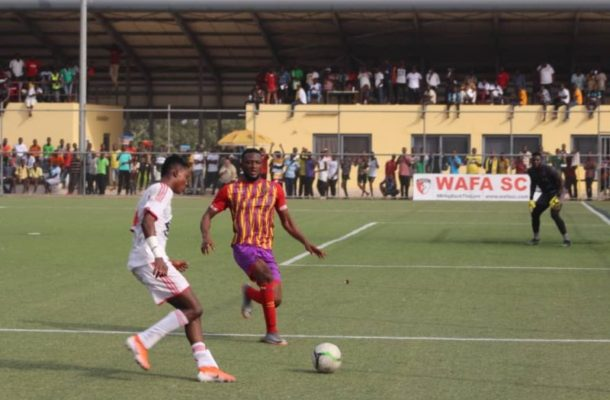 VIDEO: Watch how Hearts of Oak picked a point at the dreaded Sogakope