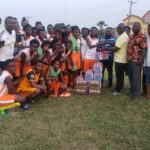 BIG BOOST:Mando Senior High School Tutors Donate To Soccer Intellectuals Ahead Of Season Kick Off.
