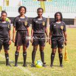 Match Officials for National Women's League Matchday 2
