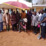 DCE cuts sod for construction of Administration Block for Abetifi Vocational Institute