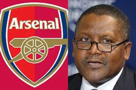 Africa's richest man Aliko Dangote plans to buy Arsenal in 2021