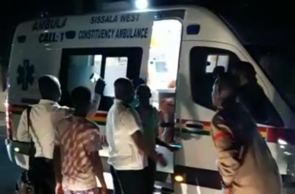 VIDEO: New Sissala West ambulance rescues accident victims