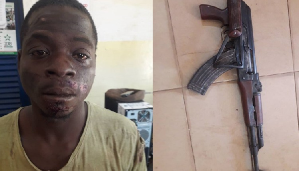 Most wanted armed robber, murderer in Bawku arrested with fully loaded weapon