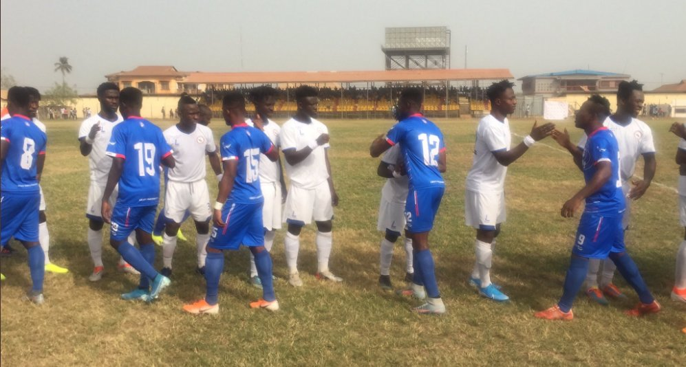 Berekum Chelsea come from behind to beat Ebusua Dwarfs
