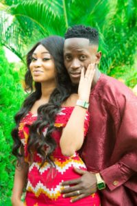 Photos: Ghanaian striker Emmanuel Boateng marries his long-time girlfriend