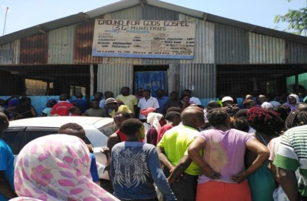JUST IN: Pastor stabs wife during church service; then slits his own throat