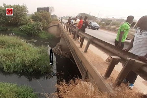 Man found dead in Ashaiman storm drain
