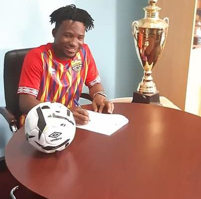 Hearts finally sign Aziz Nurudeen on transfer deadline day