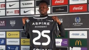 Emmanuel Sowah wants to take his chance at KAS Eupen