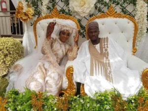 PHOTOS: Former Kotoko striker Abdul Fatau Safiu ties the knot with girlfriend