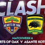 Live Updates: Hearts of Oak vs Asante Kotoko