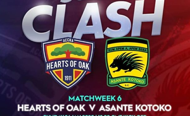 Live Updates: Hearts of Oak vs Asante Kotoko