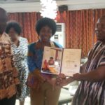 PHOTOS: Ghanaian culture enthusiast, Jonathan Sackitey Quoa honoured