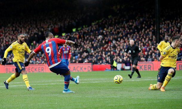 Jordan Ayew scores again in draw against Arsenal