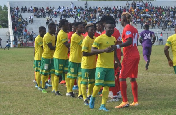 New date announced for Ebusua Dwarfs vs Kotoko GPL clash