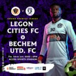 Legon Cities announce league clash with Bechem Uinted is free for ladies and physically challenged