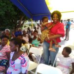 MASLOC boss fetes sick children at Koforidua Central Hospital
