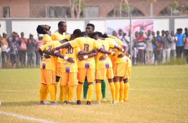 Medeama name 18 man squad for Kotoko clash