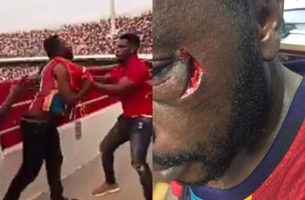Repentant boxer Patrick Allotey renders apology for assaulting football fan