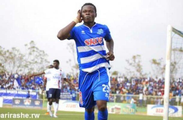 Pierre Pierrot Kwizera arrives in Kumasi to sign for Kotoko