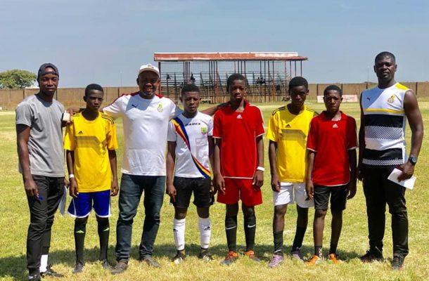 Samuel Boadu named coach of national U-15 national team